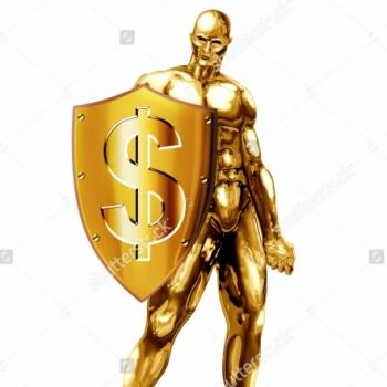 coriandoli gold